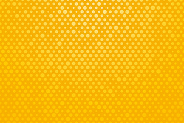 Yellow background with small polka dots