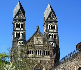 Parish Church from 1910 in Clervaux, Luxembourg