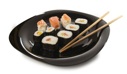 Sushi aislado