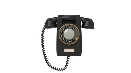 3d black phone.