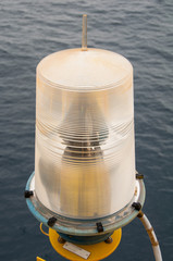 Navigation aid on the platform in offshore