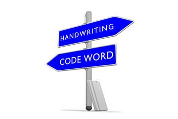 Code Word / Handwriting