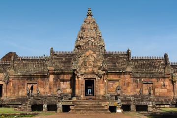 Phanom rung, Sandstone carved castle
