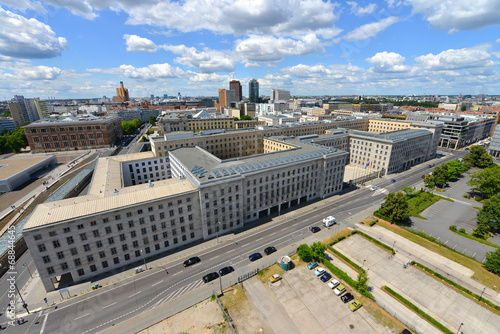 Aluminium Berlijn Bundesministerium der Finanzen, BMF, Wilhelmstraße, Berlin