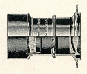 Petzval portrait lens.