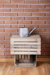 Rectangular wooden boxes