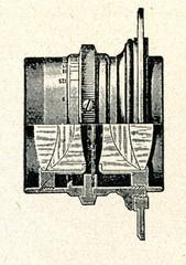 Steinheil ortostigmat photographic objective