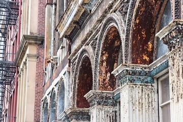 Philadelphia iron facades, USA