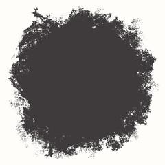 Grunge shape for your design, vector illustration