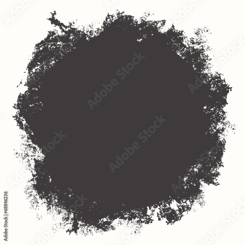 Foto op Canvas Vormen Grunge shape for your design, vector illustration