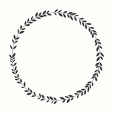 Vector laurel wreath, silhouette - 68846447