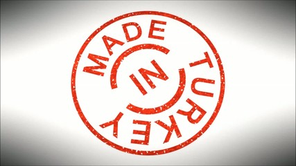 Stempel Made in Turkey