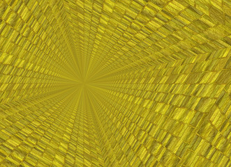 vanishing point perspective of gold bar backgrounds