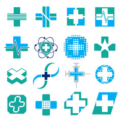Set of Medical Concept Icons