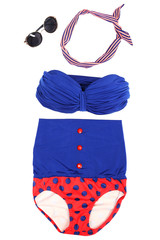Swim suit and summer accessories