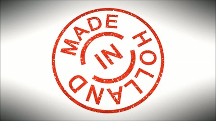 Stempel Made in Holland