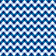 Seamless Checkered Chevron Fabric Pattern
