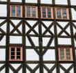 canvas print picture - Altstadt Erfurt @ miket