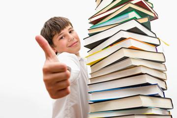 Парень, который любит читать