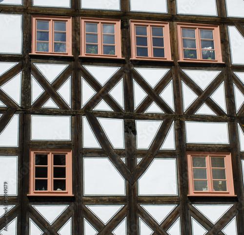 canvas print picture Altstadt Erfurt @ miket