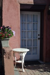Cottage Door with Flowers-01