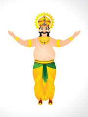 illustration of King Mahabali