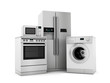 canvas print picture - House appliances