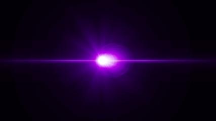 lens flare flash cinematik effect
