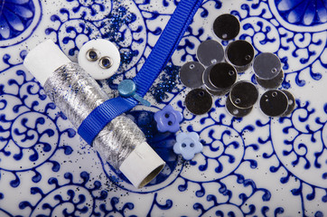 blue haberdashery and hobby