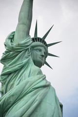 Statue of Liberty, New York.