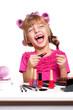 Makeup little girl