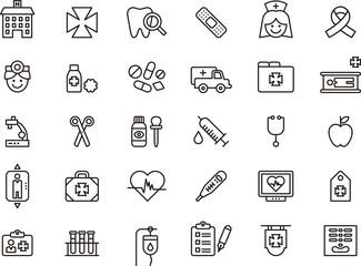 Medical & Hospital icons