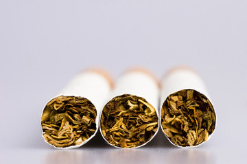 Zigaretten Makro