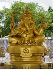 Elephant - headed god monk
