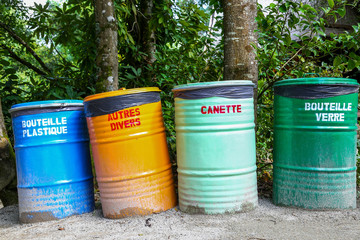 selective sorting of waste