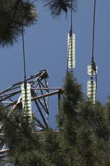 Insulators of high-voltage power lines