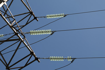 Insulators of high-voltage power lines