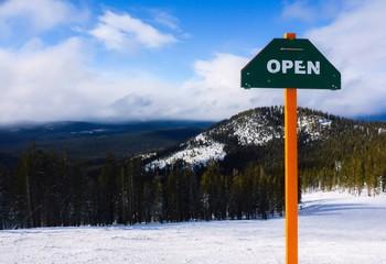 alpine resort is open