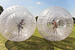children have a lot of fun in the Zorbing Ball - 68856227