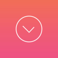 Clock / Time  - Finely crafted line icons
