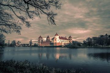 Medieval Mir Castle Complex in Belarus