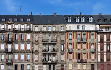 immeubles classiques du centre de Strasbourg