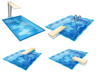 Set of pools