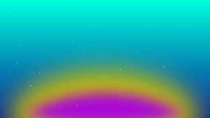 flying particles with rainbow color background 4