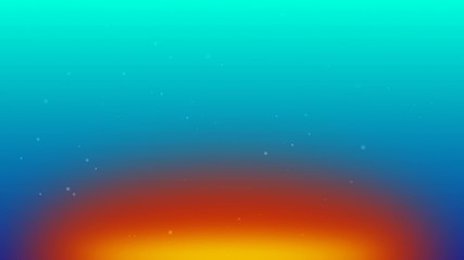 flying particles with rainbow color background 3