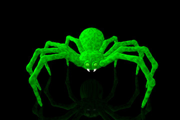 Green Slime Spider