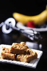 Yummy, Peanut Butter Marshmallow Squares with Egg Fruit