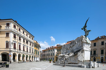 World War I memorial in Sarzana, Italy