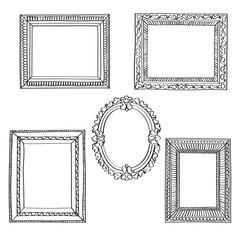 Elegant Ornate frames