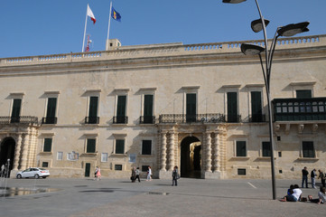 Malta, the great master palace of Valetta